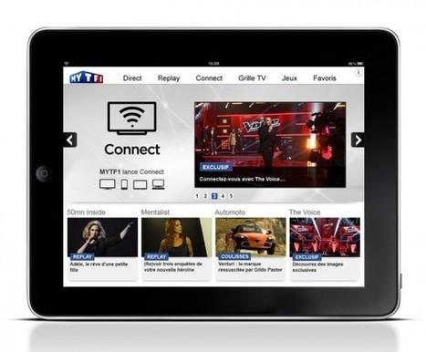 TF1 lance Connect, le second écran…   Curiosité Transmedia & Nouveaux Médias   Scoop.it
