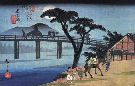 Suisse > EXPOSITION / Avec Hiroshige sur la route du Tôkaidô | Merveilles - Marvels | Scoop.it