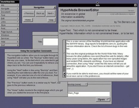 Pour les 20 ans du Web, le tout premier site internet est remis en ligne | Richard Dubois - Digital Addict | Scoop.it
