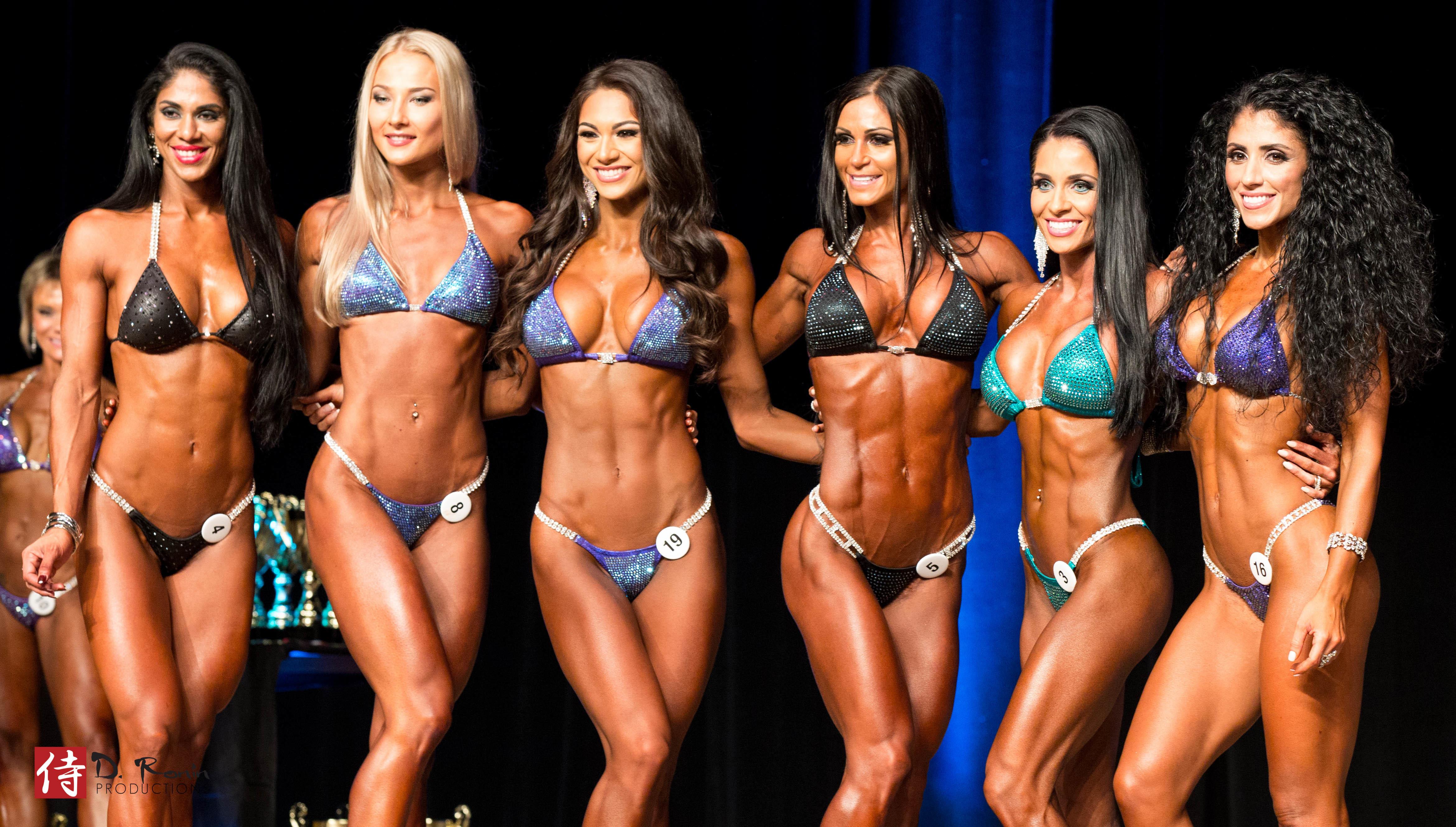 Pro Bikini Competitors