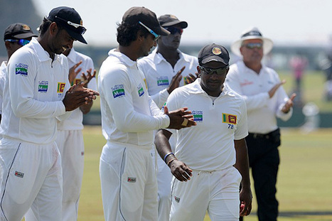 Photo: Applause all round for Rangana Herath at Galle | Sri Lanka Cricket | Scoop.it