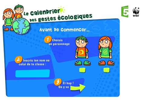 Gestes écologiques - francetv éducation   Dossier - French Language Learning   Scoop.it