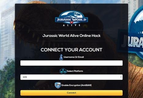 jurassic world the game hack no survey 2018