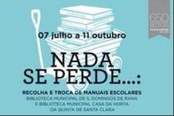Recolha e troca de manuais escolares nas bibliotecas municipais de Cascais - Desporto na Linha   Biblos   Scoop.it