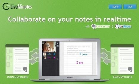 Liveminutes en Evernote, una integración perfecta | Educación (métodos y herramientas) | Scoop.it