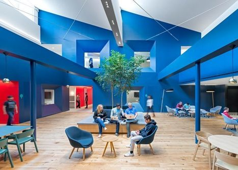 10 of the most creative office interiors from Dezeen's Pinterest boards | Inspired By Design | Scoop.it
