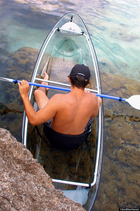 We Wish We'd Thought Of This Genius Transparent Kayak | Travel News Travel Tips | Scoop.it