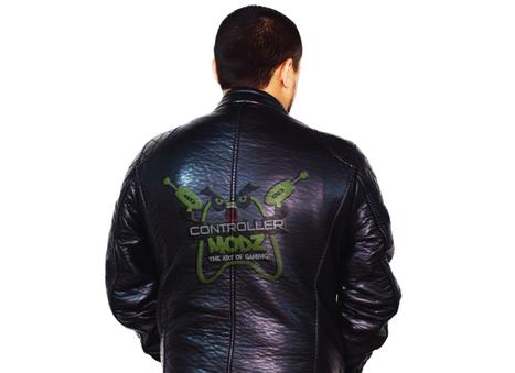 Leather Jacket Back Free Psd Mockup Graphicsp