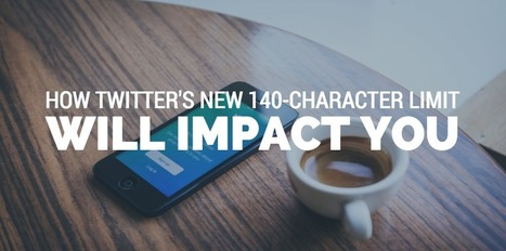 You Will Be Immediately Impacted by Twitter's Revamped 140-Character Limit via Simply Measured | Social Media Bites! | Scoop.it