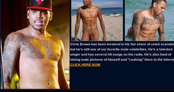 Naked pics of chris brown — photo 11