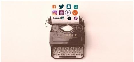 Journalistes et réseaux sociaux : addiction et nécessité | La Lorgnette | Scoop.it