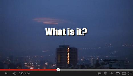 'Wormhole' UFO filmed over Turkey | Weird News and Celebrity Gossip by Tom Rose | Scoop.it