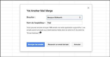 Comment faire un publipostage avec Google ? | Les outils d'HG Sempai | Scoop.it