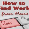 How to Find Work from Home