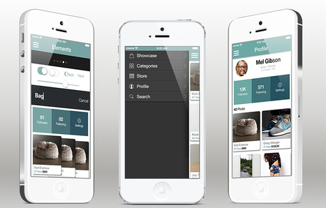 Mobile app templates scoop tap tag template for ios8 create awesome social shopping app for iphone mobile app pronofoot35fo Choice Image