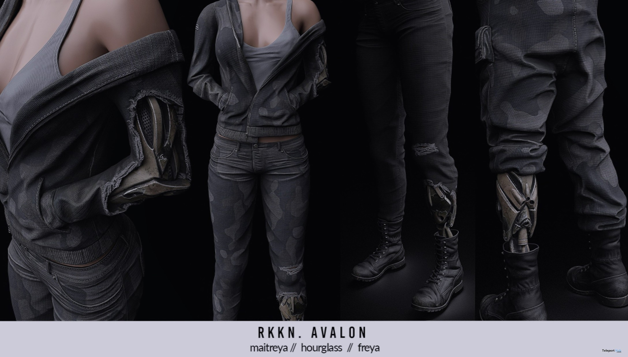 New Release: Avalon Outfit by RKKN @ Shiny Shab