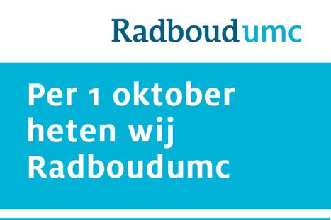 Nieuwe naam en huisstijl: Radboudumc | Huisstijl | Scoop.it
