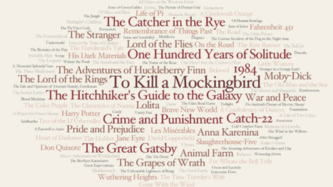 The Novels Everyone Should Read, Based on Top Book Lists and Prizes   Geek out   Scoop.it