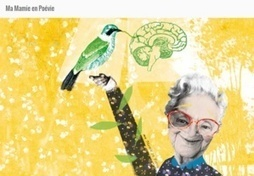 Ma mamie en Poévie : un livre interactif pour aborder Alzheimer avec les enfants | Must Read articles: Apps and eBooks for kids | Scoop.it