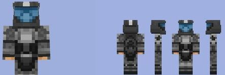 Halo ODST Skin For MCPE Minecraft Mods Downlo - Skins para minecraft pe halo