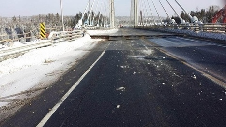 Cross-Canada route severed after Northern Ontario bridge splits apart | Geography Education | Scoop.it