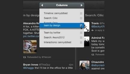 Quelques améliorations pour TweetDeck   Actu - ergonomie et parcours  web   Scoop.it