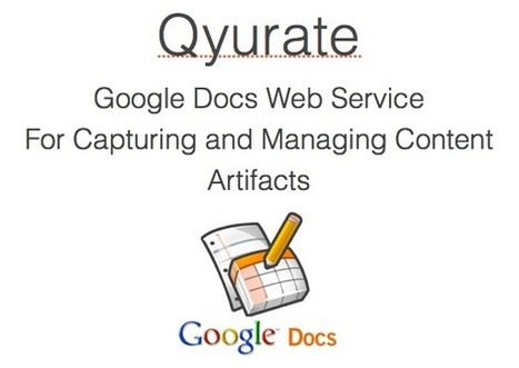 Curate Online Content via RSS with Qyurate | Digital Curation for Teachers | Scoop.it