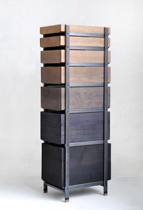 Steven Banken colore le bois avec la réaction chimique de l'acide tannique du chêne et la rouille | inoow design lab | Scoop.it
