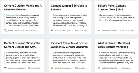 What Is Content Curation: My Collection of the Best Definitions « ALLWEBTUTS | CurationEd | Scoop.it