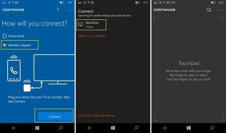 Turn your Xbox One into a PC with Continuum on the Lumia 950 or 950 XL! | Gadgets - Hightech | Scoop.it