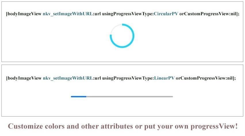 SDWebImage+CircularProgressView for iOS - Cocoa