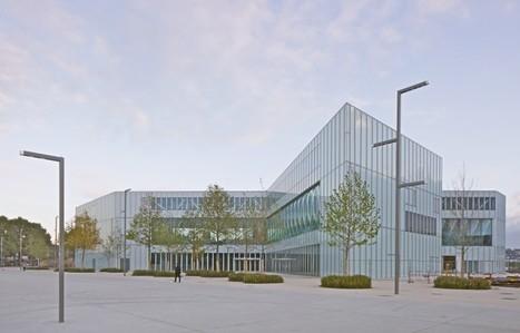 Caen s'offre une nouvelle bibliothèque signée OMA - IDEAT | Veille professionnelle des Bibliothèques-Médiathèques de Metz | Scoop.it