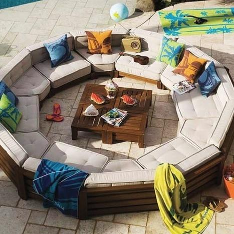 Outdoor Sofa Circle Furniture Design | Furniture Design | Scoop.it