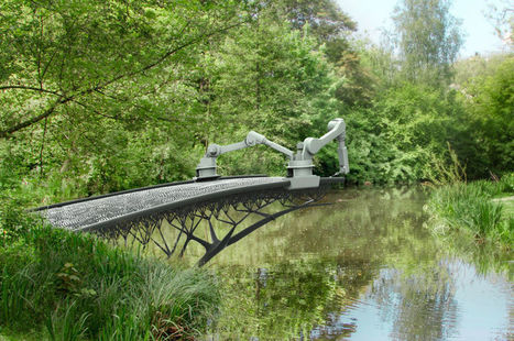 A Amsterdam, on imprime les ponts en 3D | TRIZ et Innovation | Scoop.it