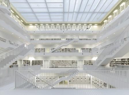 La bibliothèque de Stuttgart by Yi Architects | Le blog des tendances | BiblioLivre | Scoop.it