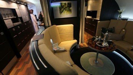 Economie - Vidéo : un appartement dans les airs, le luxe selon Etihad Airways   Les voies du luxe   Scoop.it