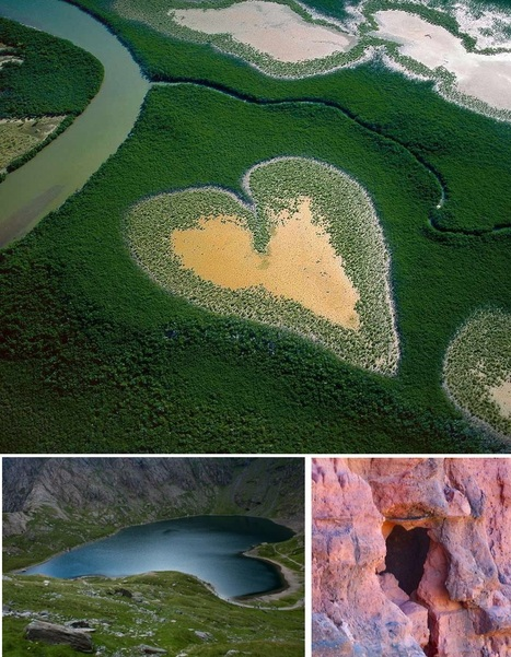 Heart-shaped landscapes | educational technology | Scoop.it