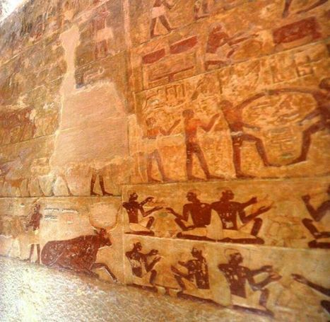 Newly renovated tombs near Giza Pyramids open to visitors | Egyptology and Archaeology | Scoop.it