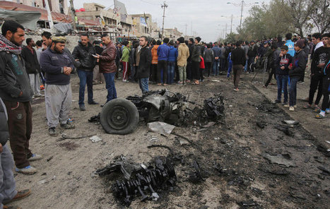 Suicide Bombing in Baghdad Kills at Least 36 | The Pulp Ark Gazette | Scoop.it