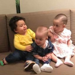 Taimur Ali Khan on a playdate with Karan Johar&