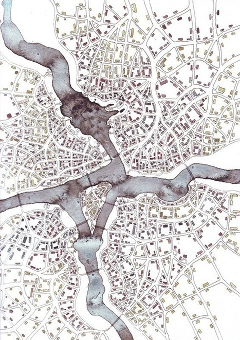 How Fractals Bring Imaginary Cities to Life | visual data | Scoop.it
