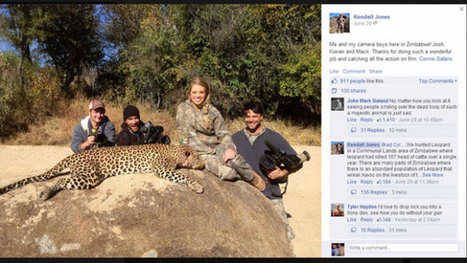 Facebook Deletes Cheerleader's Big Game Hunting Pictures For Violating Terms Of Service - CBS Houston | Nature Animals humankind | Scoop.it