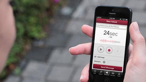 Vobok - Audio broadcast app   Learning technologies for EFL   Scoop.it