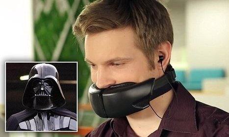 The bizarre mask that could finally quiet your annoying colleagues | Sérendipité | Scoop.it