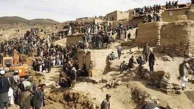 Day of mourning for Afghan mudslide | JessDeadyGeo200 | Scoop.it