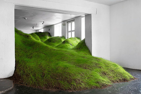 Nature reclaims itself inside an art gallery in Oslo - DZine Trip | What Surrounds You | Scoop.it