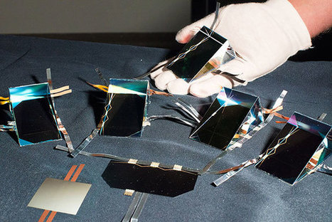 Four-Junction Solar Cell Claims Efficiency Record | HCPV | Scoop.it