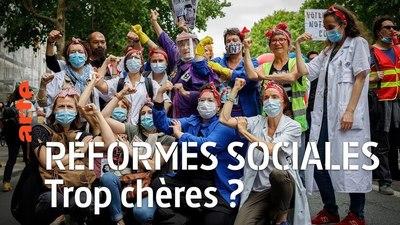 Réformes sociales : trop chères ? - 28 minutes - ARTE