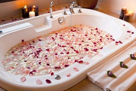 La Salle de bain romantique | Salle de bain | ...