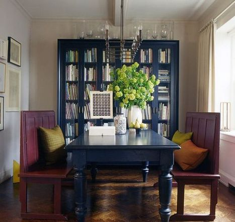 15 Inspiring Bookcases with Glass Doors for Your Home | Designing Interiors | Scoop.it